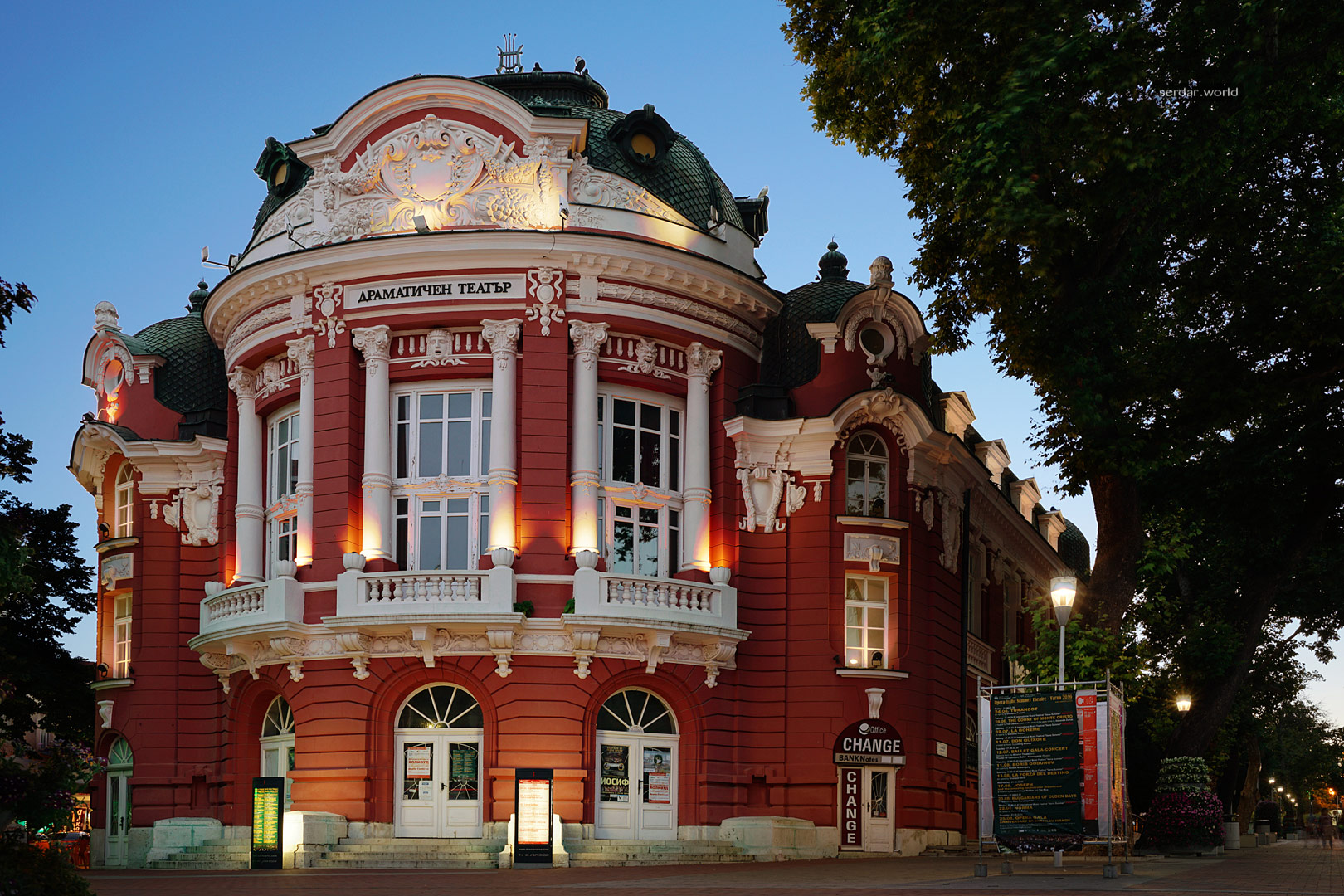 Opera House, Varna, Bulgaria