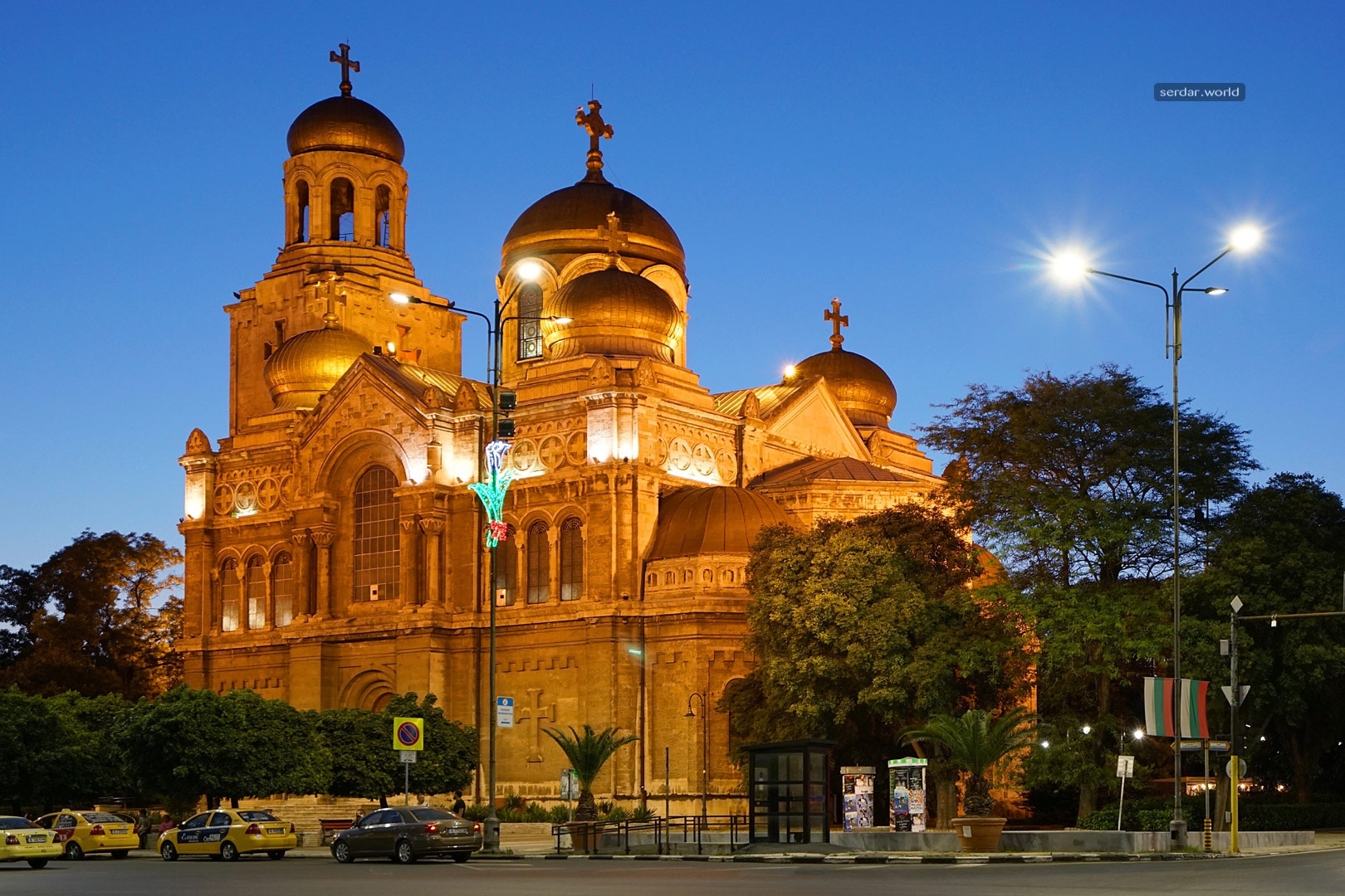 Dormition of the Theotokos Cathedral, Varna, Bulgaria.